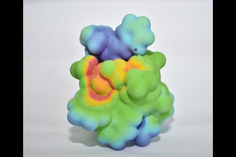 3D printed catalyst-substrate complex